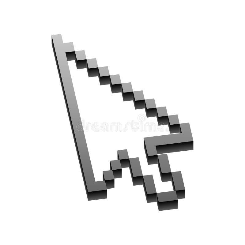 Icône de signe de flèche Prochain bouton illustration de vecteur