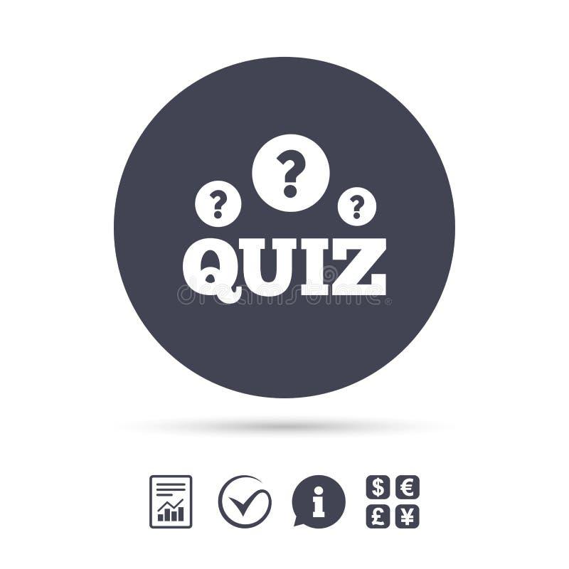 Icone De Signe De Jeu Concours Jeu De Questions Et Reponses Illustration De Vecteur Illustration Du Questions Icone 86196931