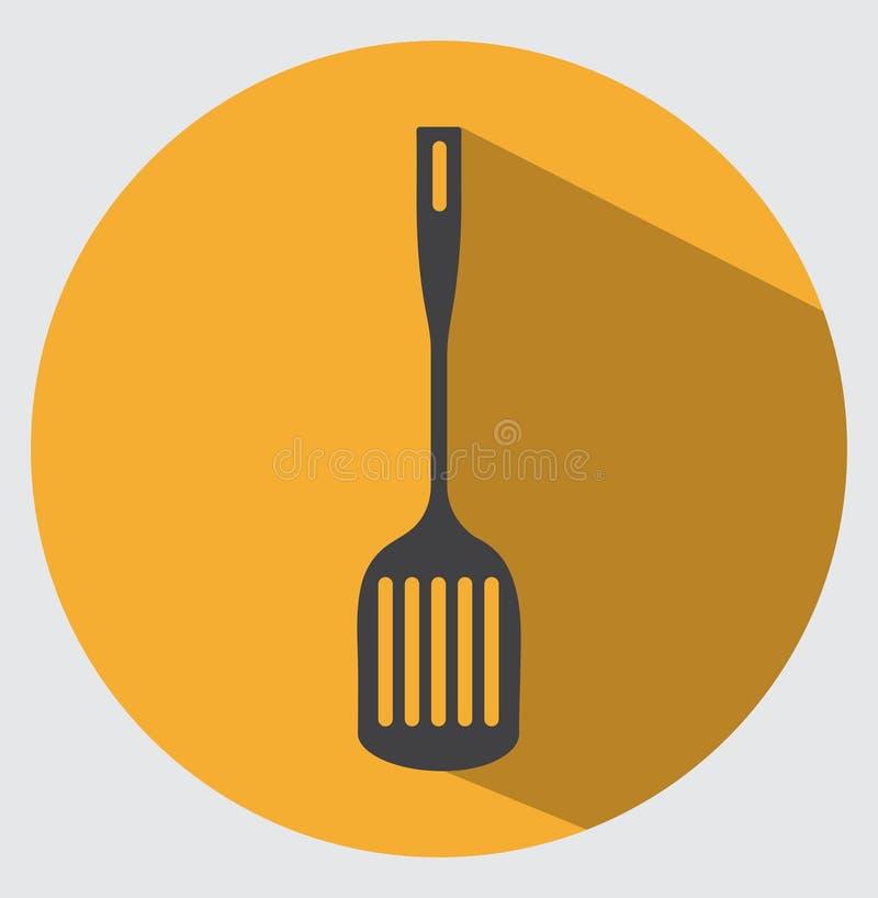 Icône de spatule illustration de vecteur