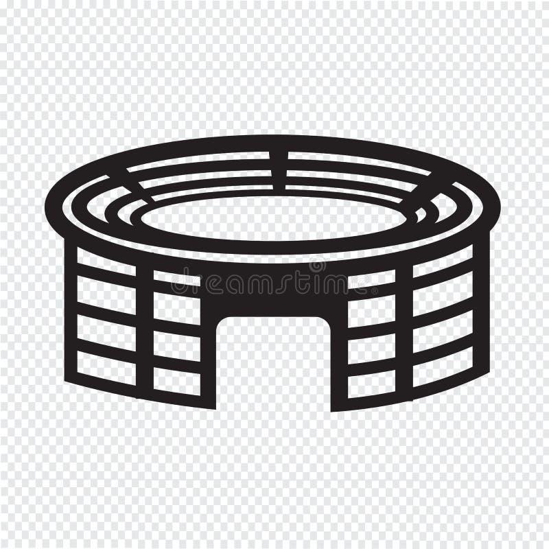 Icône de stade illustration stock