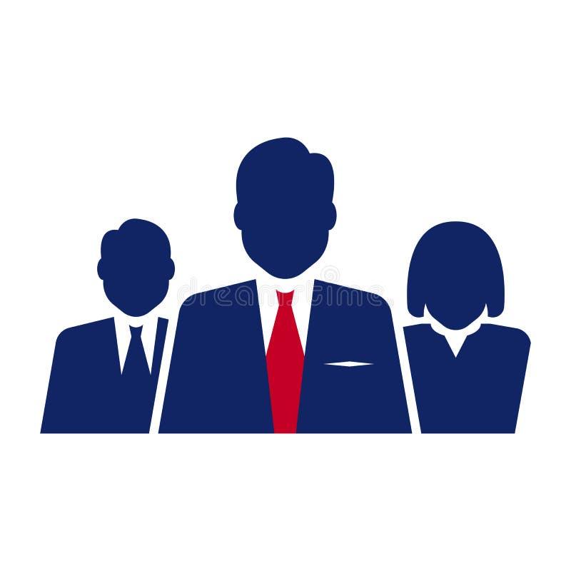 Icône de sujet d'élection illustration stock
