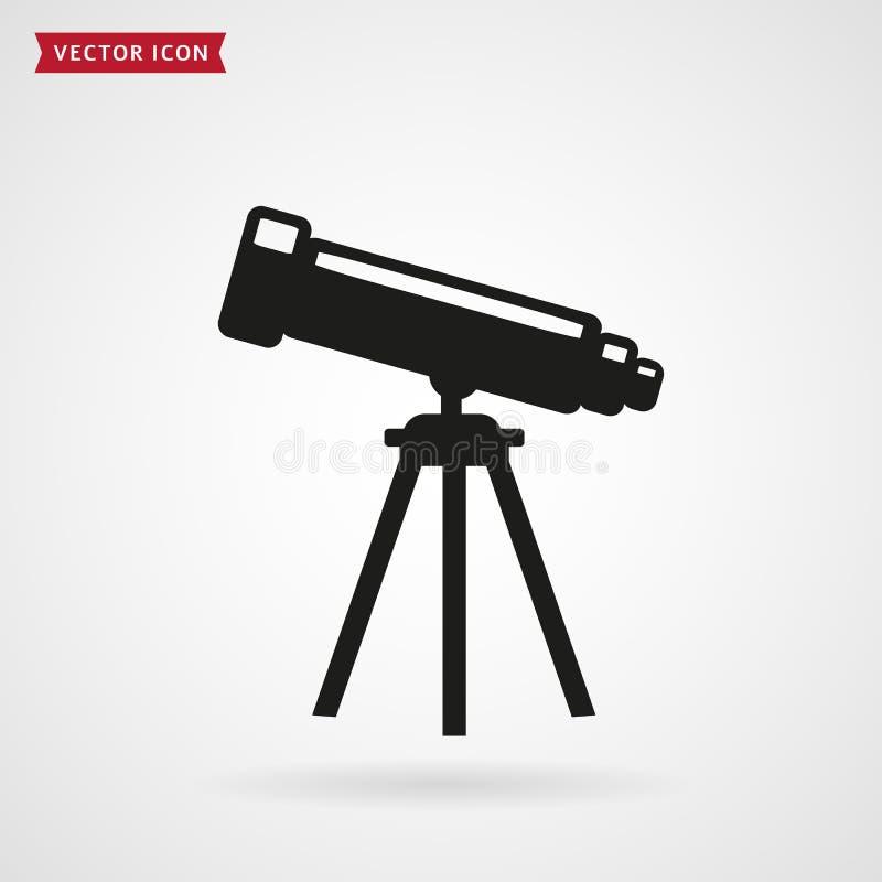 Icône de télescope illustration libre de droits
