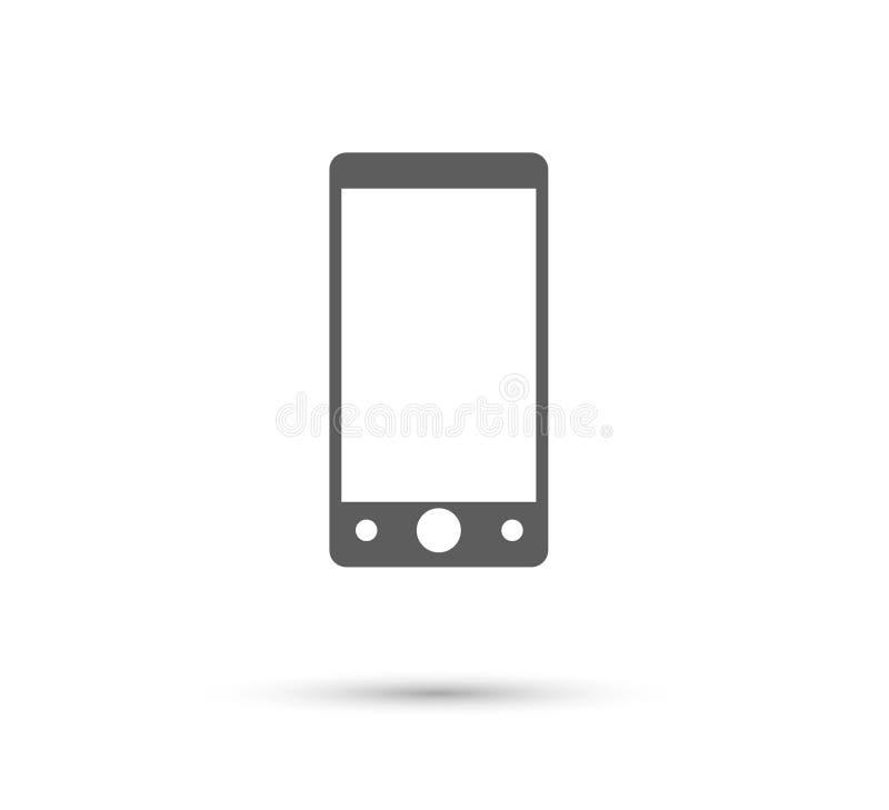 Ic?ne de t?l?phone portable nouvel ?l?ment ? la mode d'ic?ne de Web pour des applis mobiles de concept et de Web illustration libre de droits