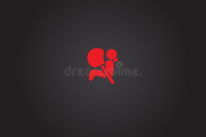 Icone De Tableau De Bord De Voiture Signe D Airbag De Voiture Illustration Stock Illustration Du Tableau Signe 91857554