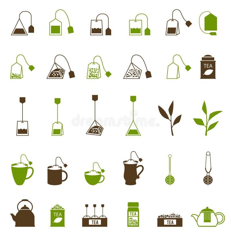 Icône de tasse de café et de thé illustration de vecteur