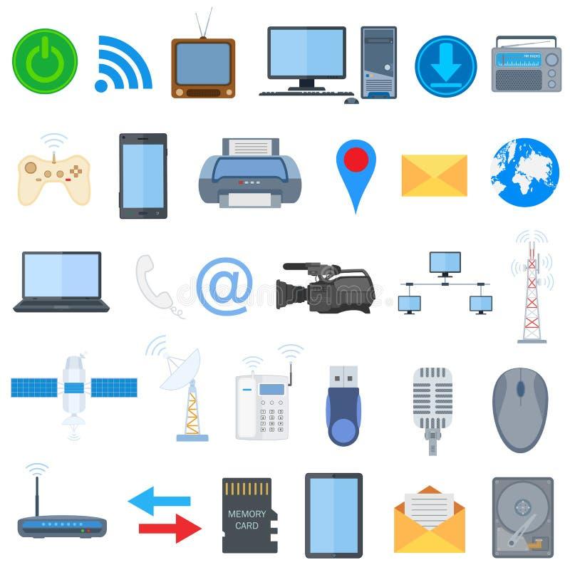 Icône de technologie illustration libre de droits