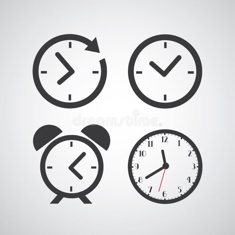 Icône de temps illustration de vecteur