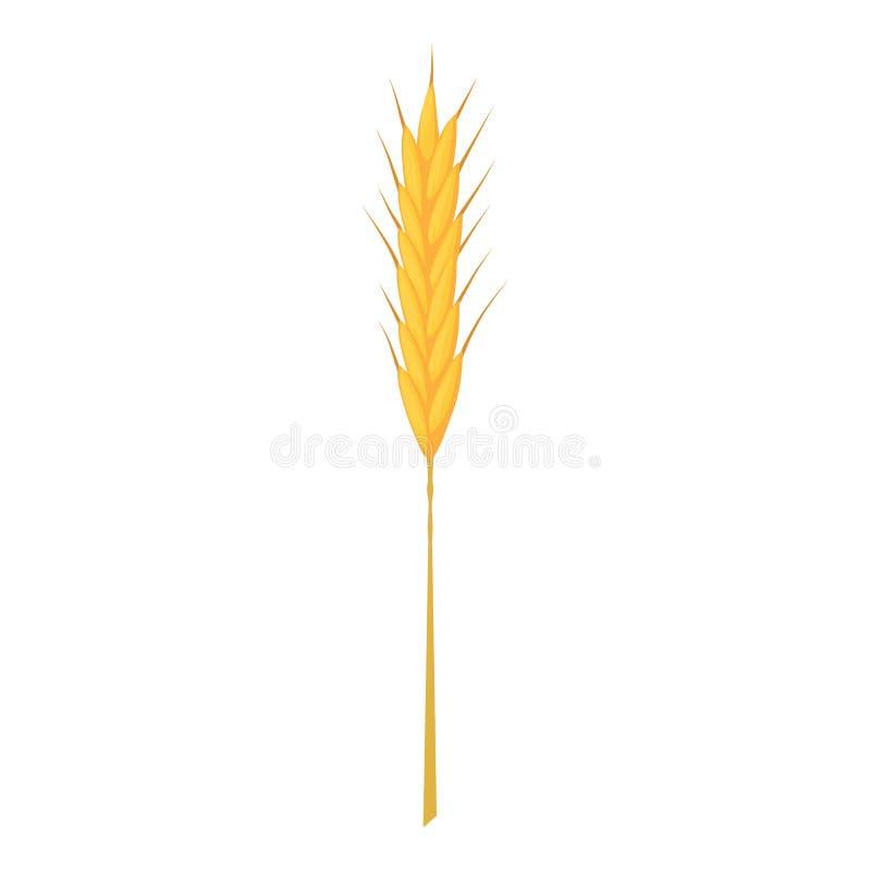 Icône de tige de blé, style de bande dessinée illustration stock