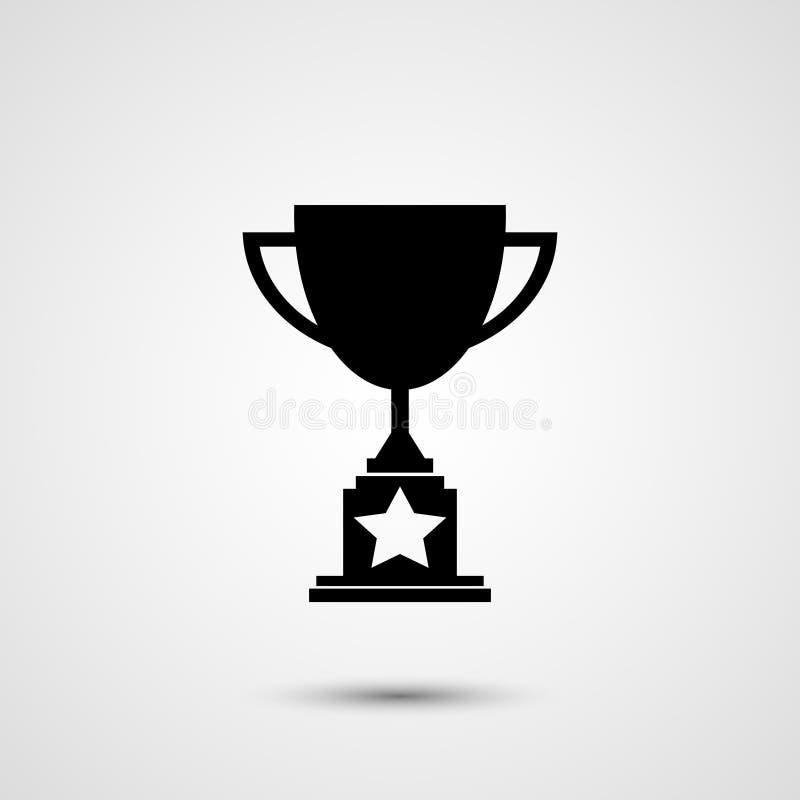 Icône de trophée illustration libre de droits