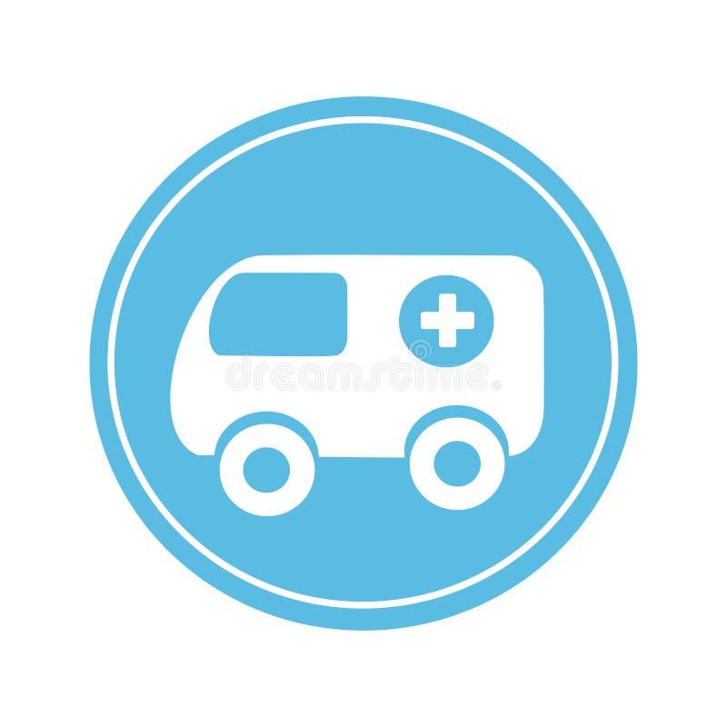 Download Icône De Véhicule De Secours D'ambulance Illustration de Vecteur - Illustration du illustration, treatment: 87704061