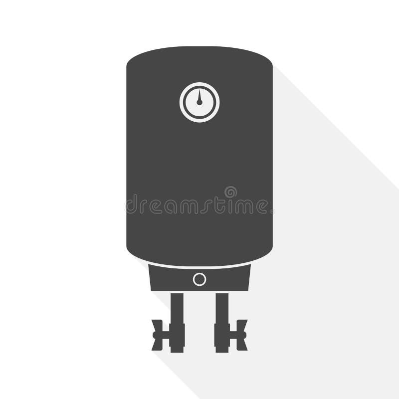Ic?ne de vecteur de chauffe-eau - illustration illustration stock