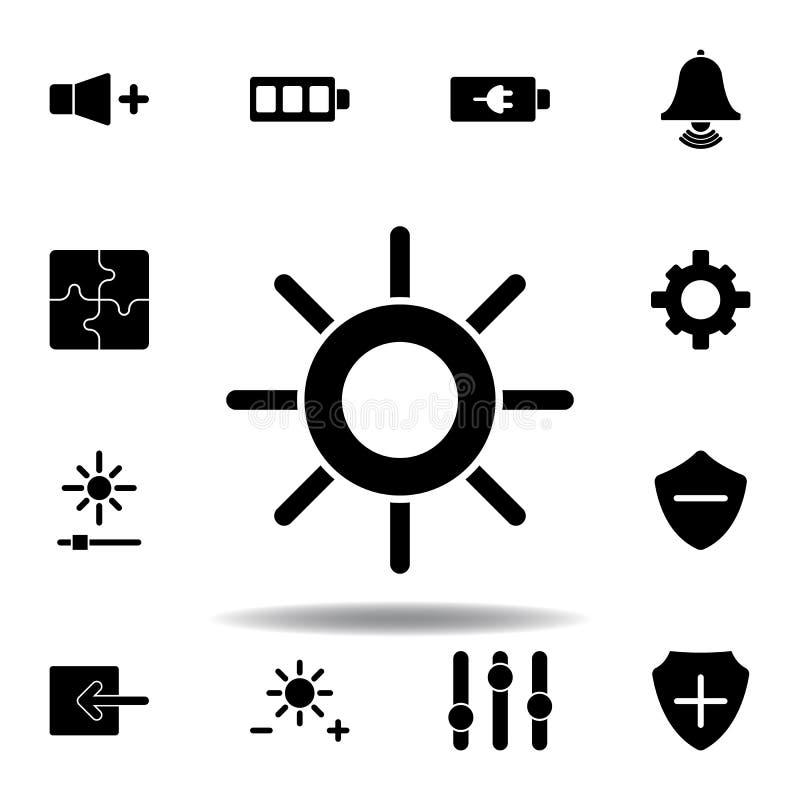 Ic?ne de volume sain de haut-parleur Des signes et les symboles peuvent ?tre employ?s pour le Web, logo, l'appli mobile, UI, UX illustration de vecteur