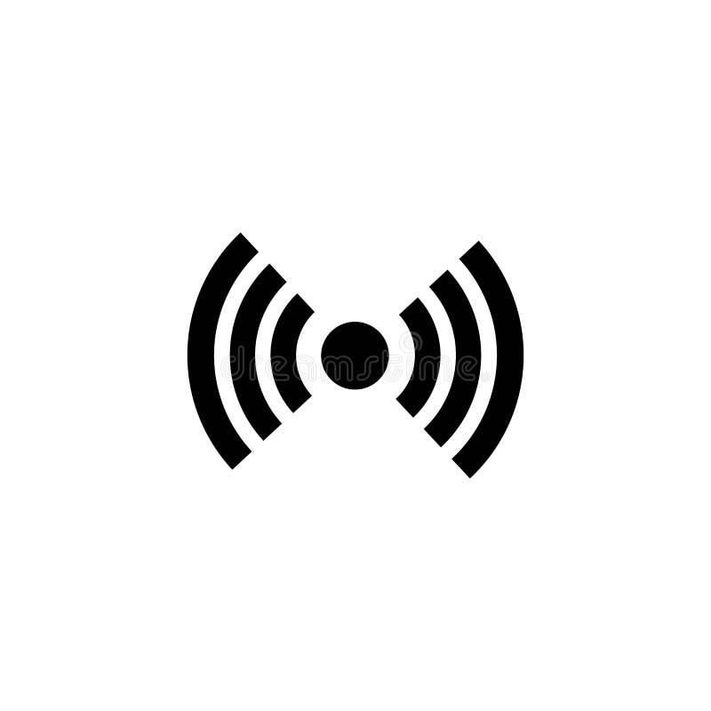 Ic?ne de Wi-Fi Vecteur d'ic?ne d'Internet illustration stock