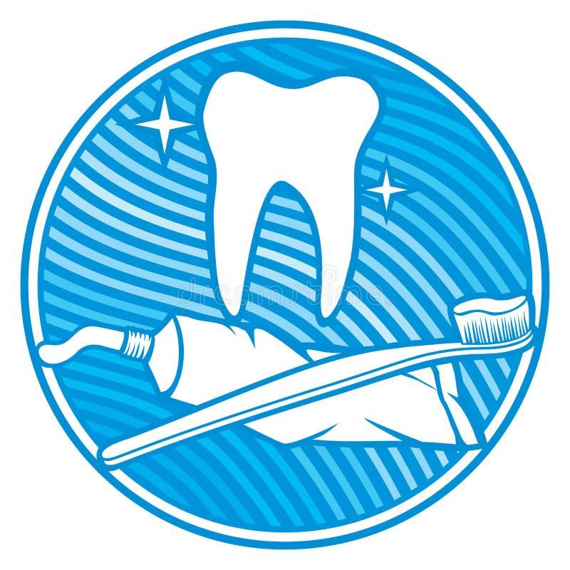 Icône dentaire illustration de vecteur