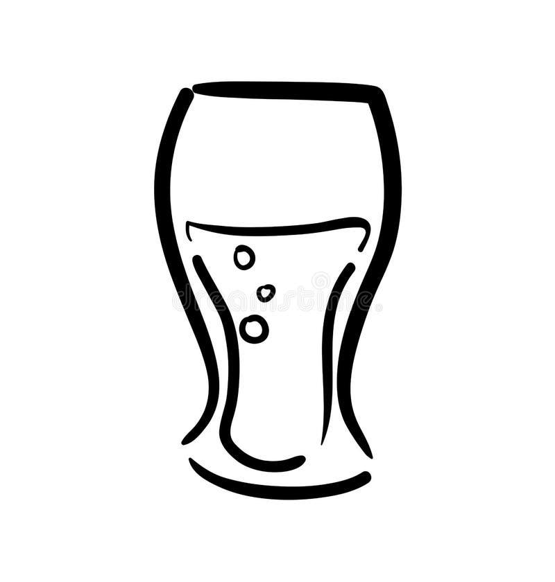 Ic ne en verre conception de soude et de boissons dessin - Dessin de verre ...