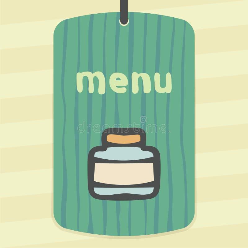 Icône en verre vide de pot d'ensemble de vecteur Logo infographic moderne et pictogramme illustration de vecteur