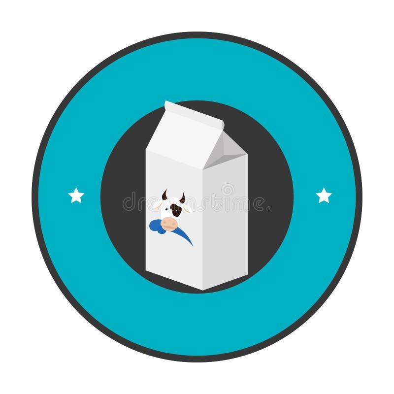 Download Icône Fraîche De Boîte à Lait Illustration de Vecteur - Illustration du paquet, image: 87703833