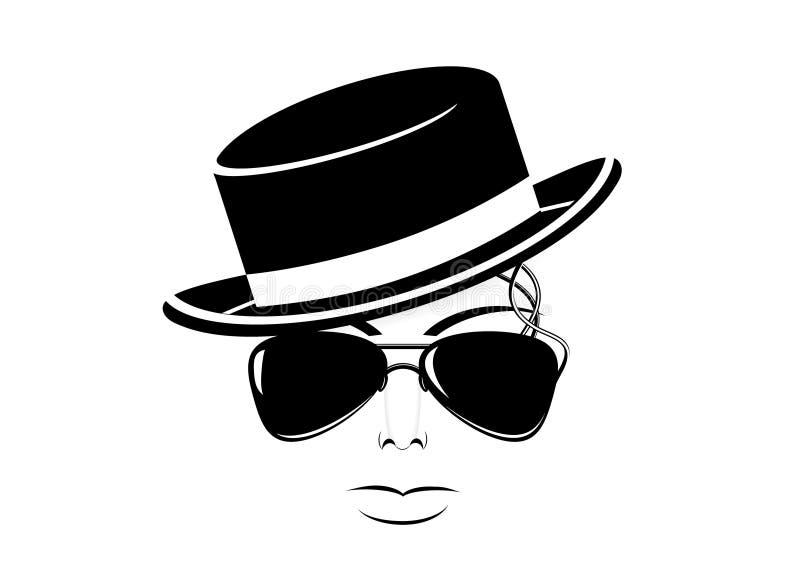 Icône Michael Jackson illustration de vecteur