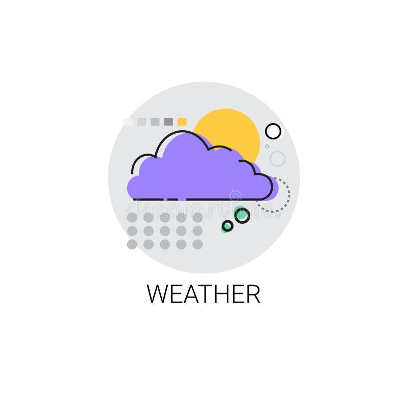 Icône mobile d'interface d'application de temps illustration stock