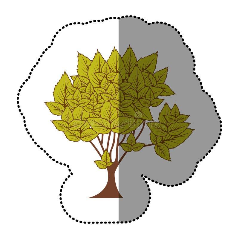 Download Icône Naturelle D'arbre De Vert De Chaux Illustration Stock - Illustration du botanique, illustration: 87705929