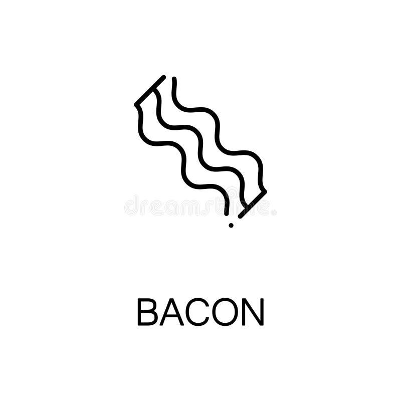 Icône ou logo plate d'Apple pour le web design illustration stock