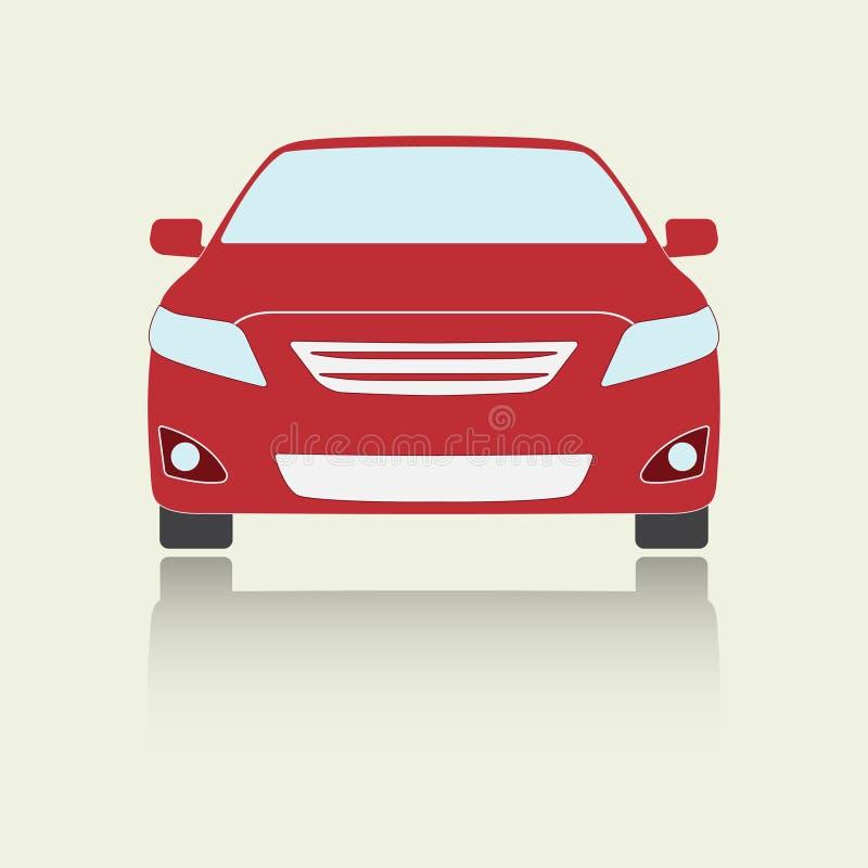 ic ne ou signe de vue de face de voiture illustration color e de vecteur de v hicule conception. Black Bedroom Furniture Sets. Home Design Ideas