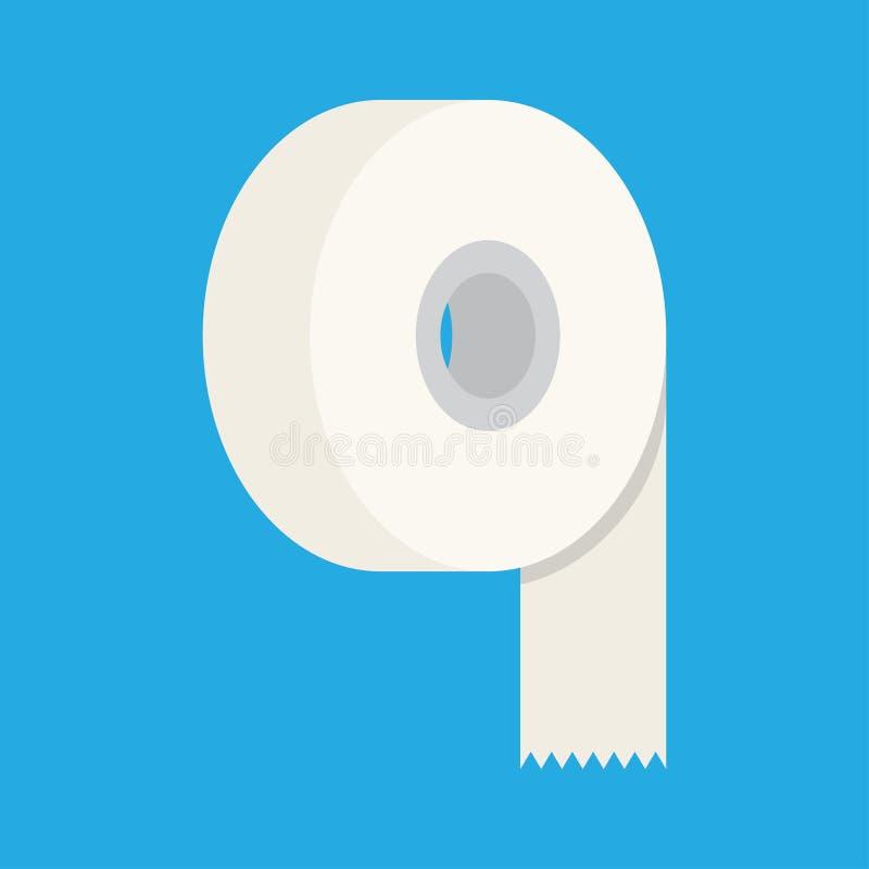 Icône plate de ruban adhésif illustration de vecteur