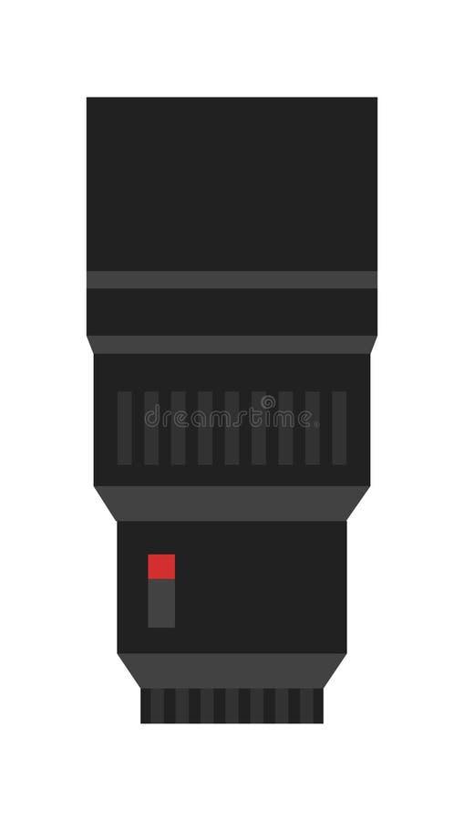 Icône professionnelle de vecteur de zoom illustration de vecteur