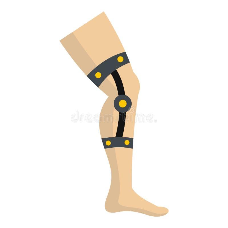 Icône rétentive de bandage d'isolement illustration de vecteur