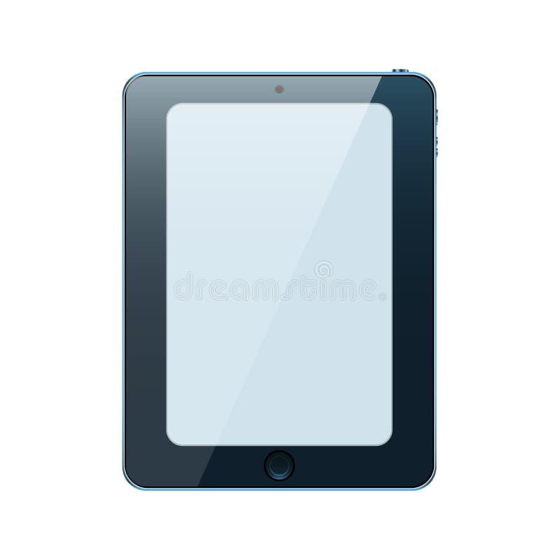 Ic?ne r?aliste de Tablette Illustration d'isolement par vecteur pour le Web illustration de vecteur
