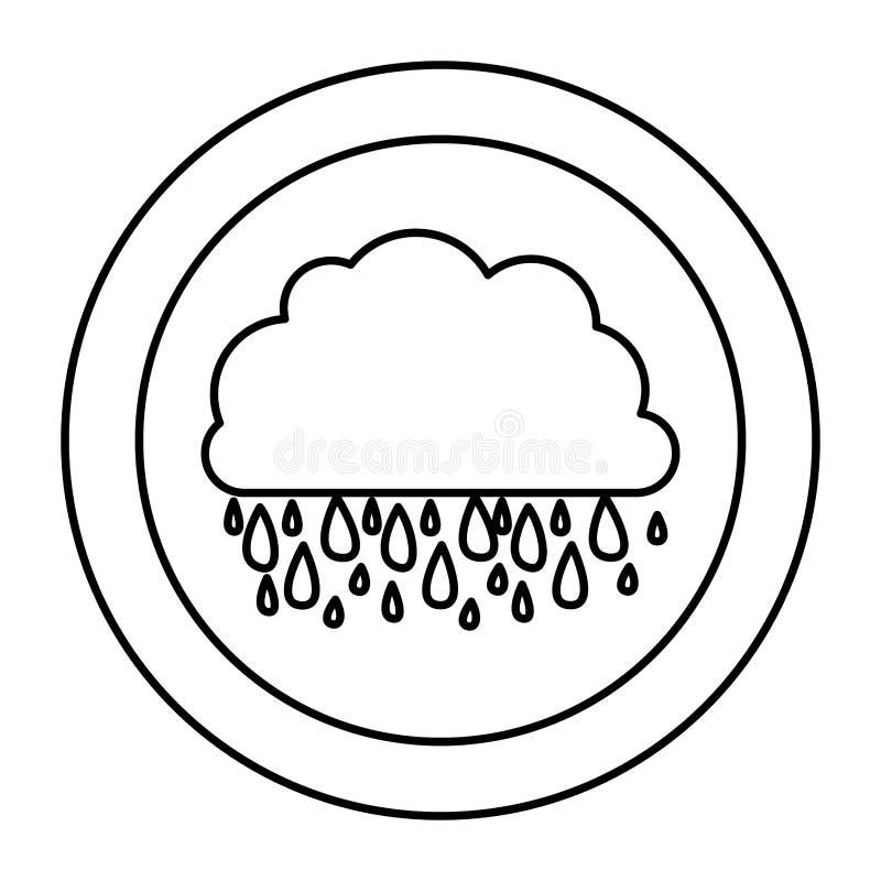 Download Icône Rainning De Nuage De Silhouette Illustration Stock - Illustration du couleur, ciel: 87707793