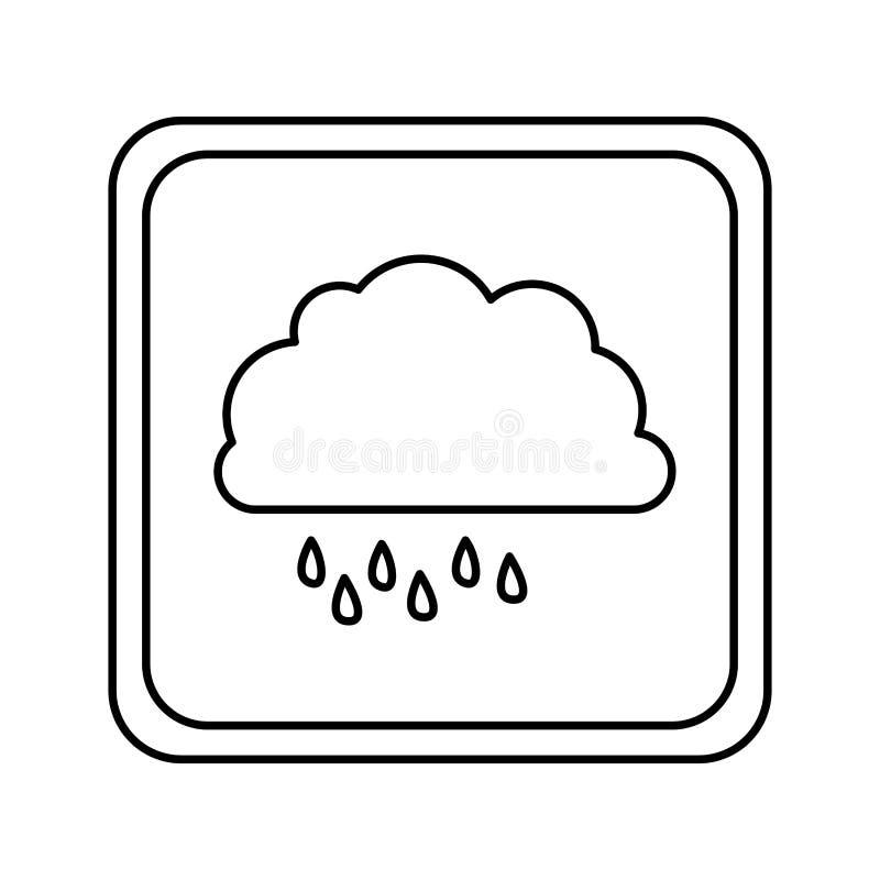 Download Icône Rainning De Nuage De Symbole Illustration Stock - Illustration du croisement, dessin: 87708081