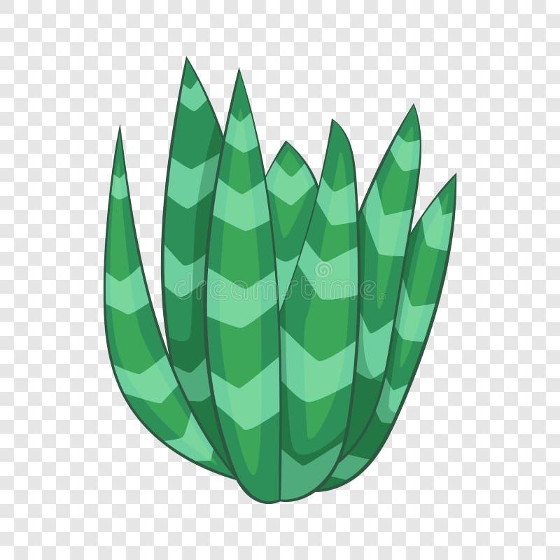Ic?ne rep?r?e d'agave, style de bande dessin?e illustration libre de droits