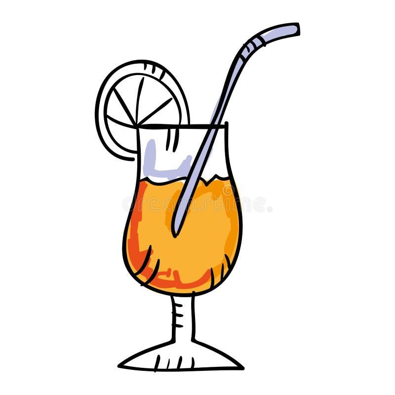Ic ne tropicale de dessin de cocktail illustration stock illustration du martini restaurant - Dessin cocktail ...
