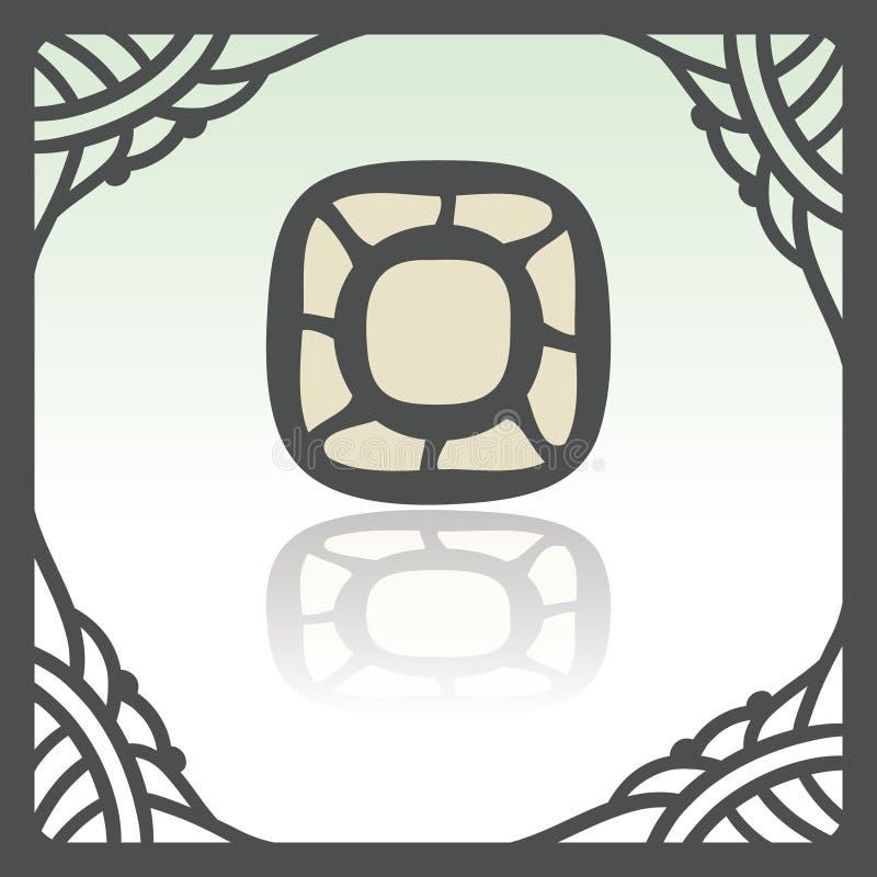 Icône vide de plat ou de cuvette d'ensemble de vecteur Logo infographic moderne et pictogramme illustration stock