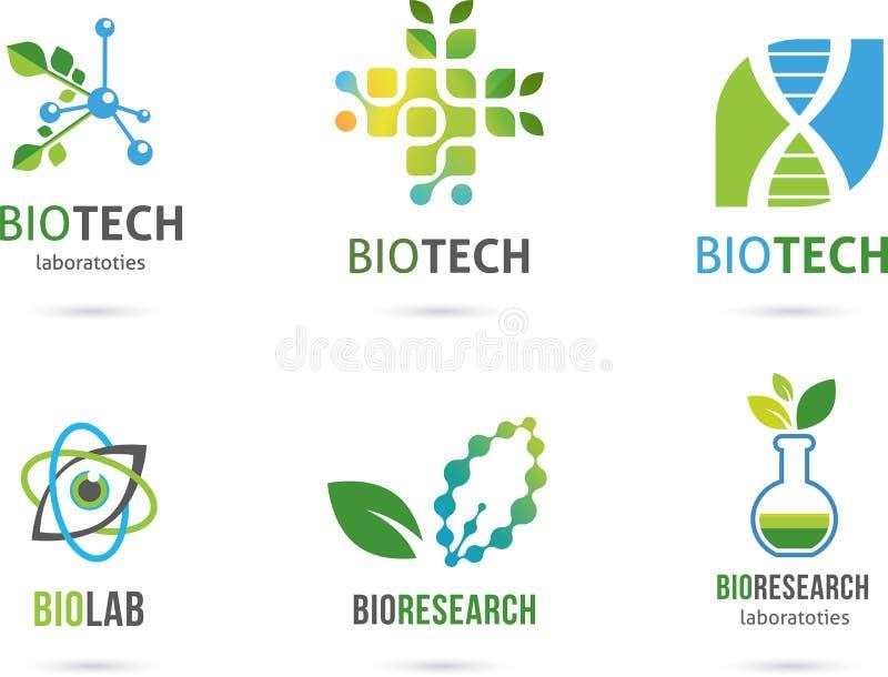 Icônes alternatives naturelles de phytothérapie illustration libre de droits