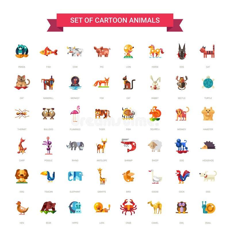 Ic nes d 39 animaux sauvages et domestiques de conception - Images d animaux sauvages gratuites ...