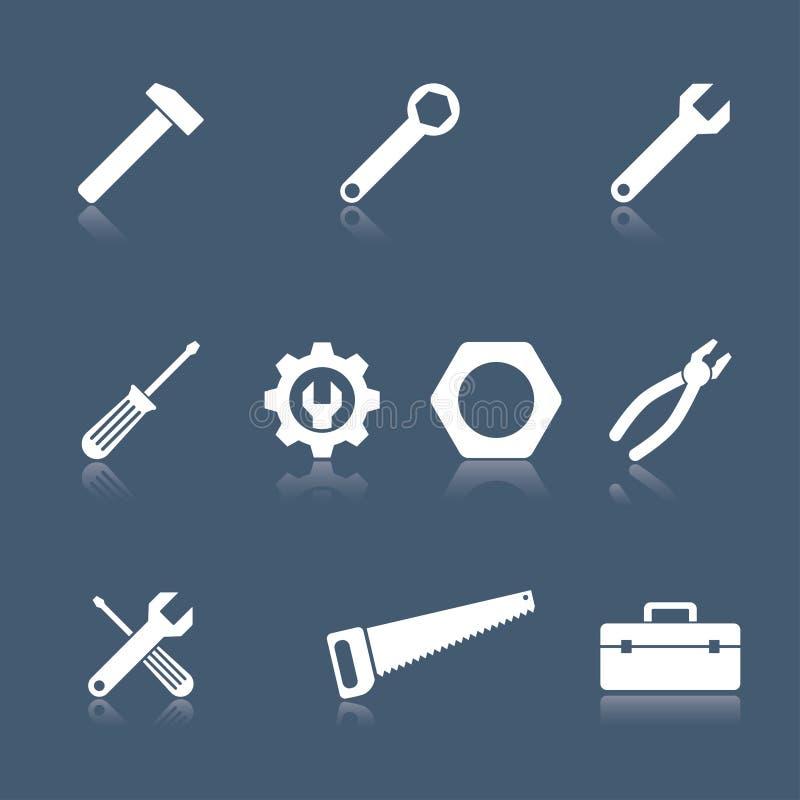 Icônes d'outil illustration de vecteur