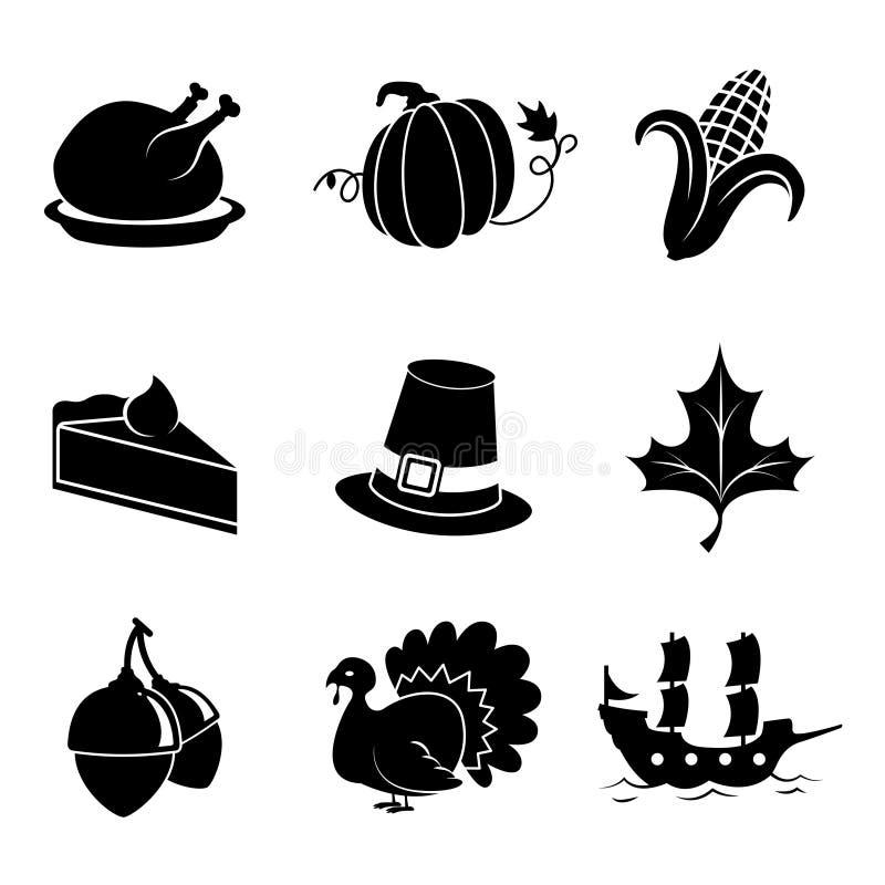 Icônes de thanksgiving