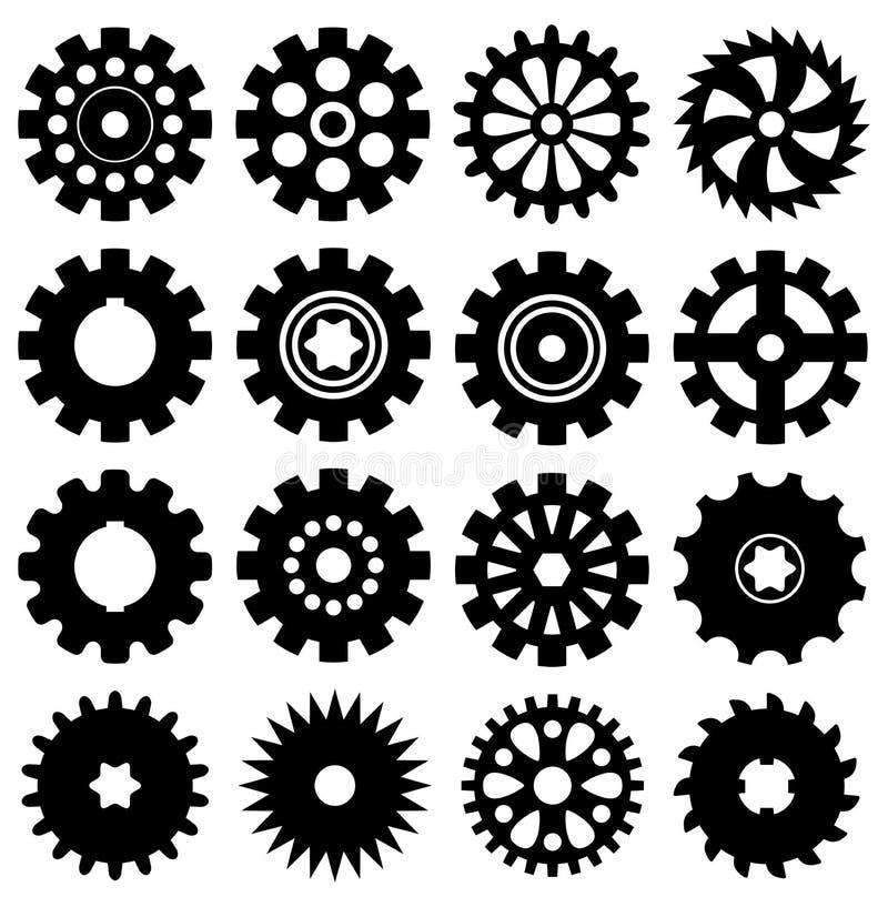 Icônes de vitesse illustration de vecteur