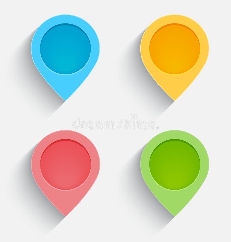 Icônes De Web Illustration Stock
