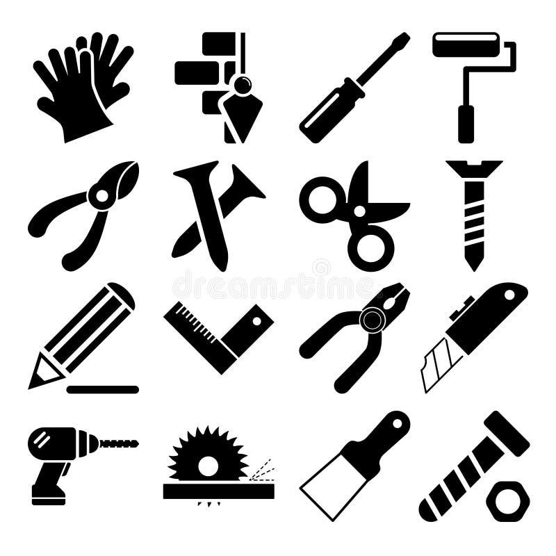 Icônes vol. 2 d'outils illustration de vecteur