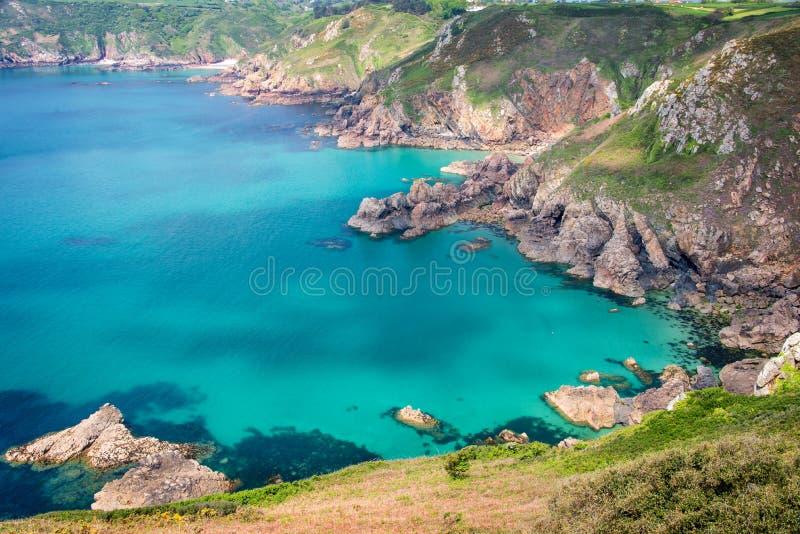Icart punktu panorama, Guernsey obraz stock
