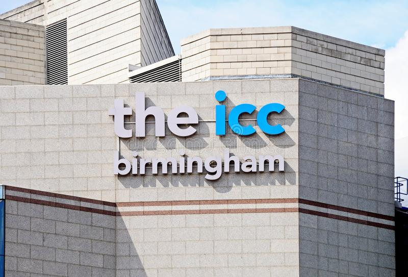 ICC, Birmingham stockbilder