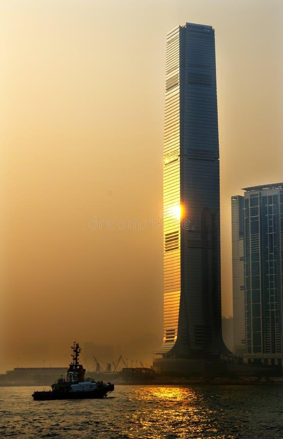 Download ICC Hong Kong De Construção Foto de Stock - Imagem de porta, hong: 26506324