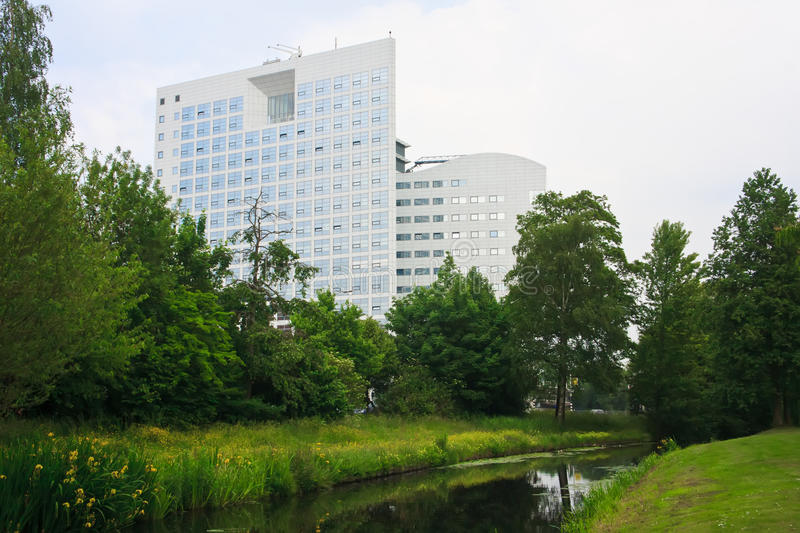 ICC International Criminal Court, The Hague Royalty Free Stock Photos