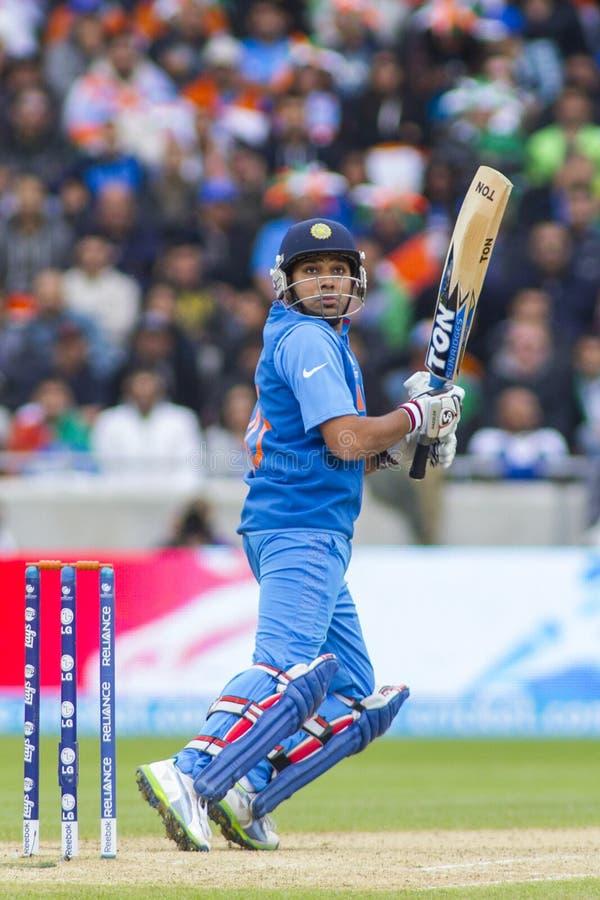 ICC trofeo India v Pakistan dei campioni fotografie stock libere da diritti