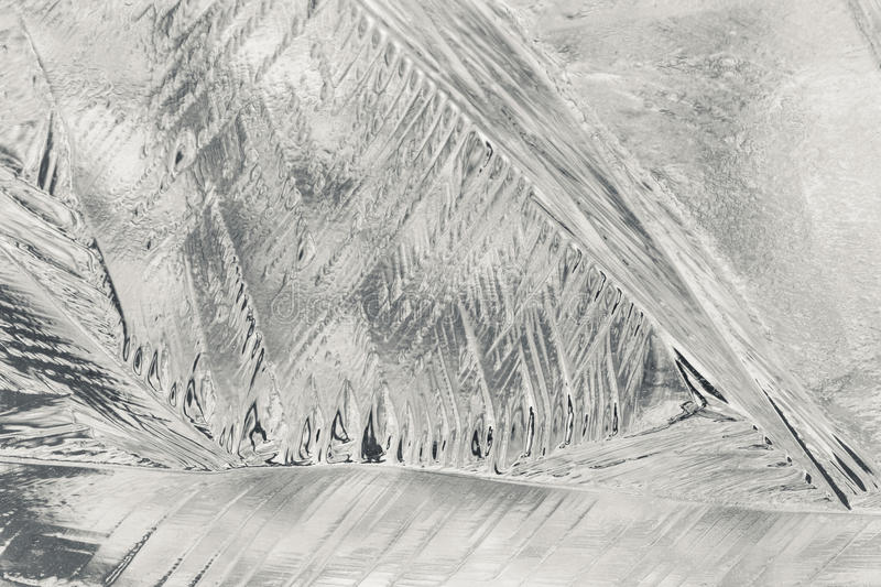 Ice Abstract. An abstract of frozen ice patterns royalty free stock images