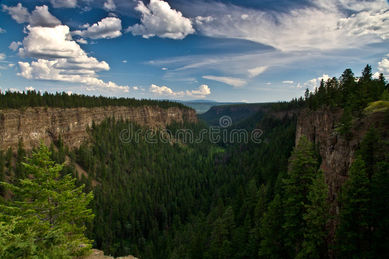 Ice Age Chasm Royalty Free Stock Photo