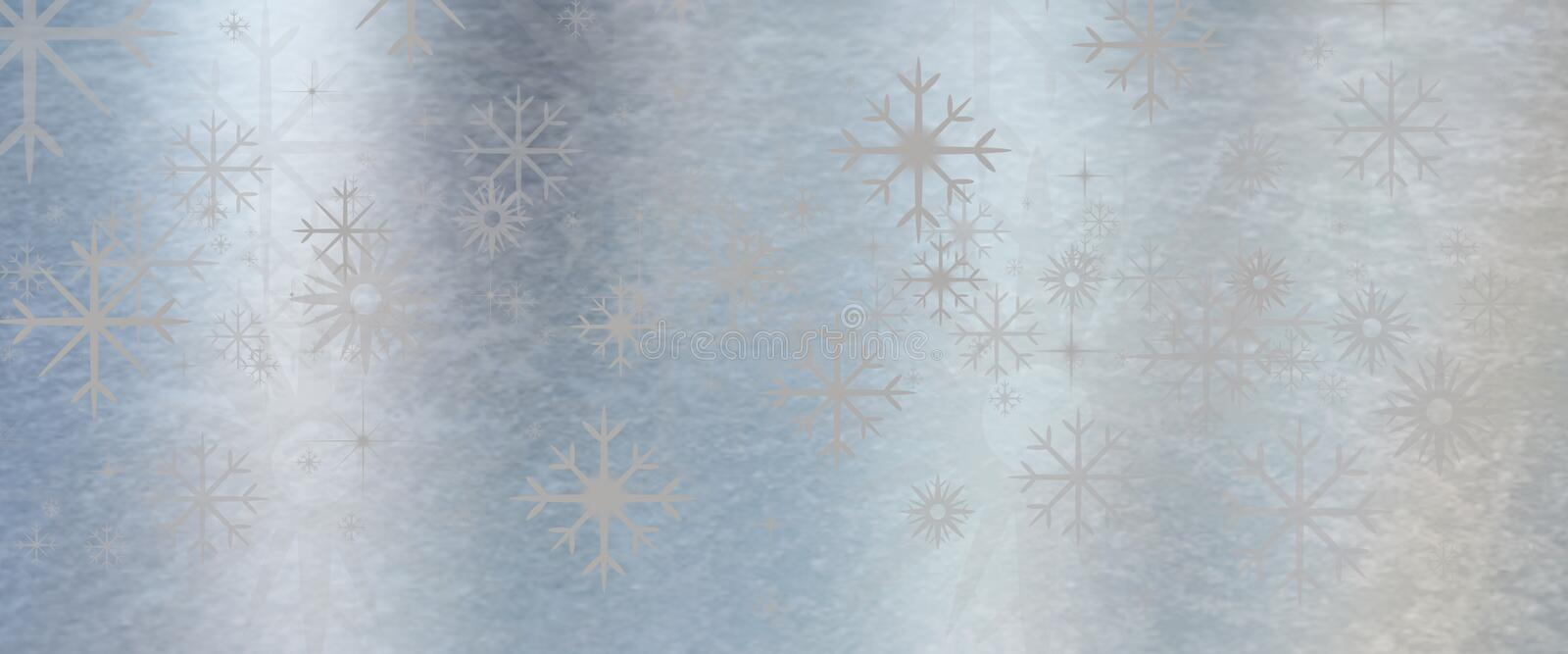 Ice blue metal texture background with star royalty free stock image